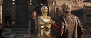C3PO Interrupts TFA