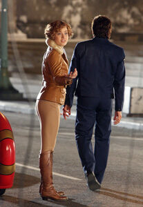 Amy Adams as Amelia Earhart In Night at the Museum 5