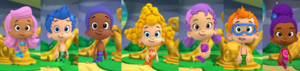 Bubble Guppies as the Narrator (with Zooli) by Eli Wages