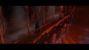 Darth Vader balcony