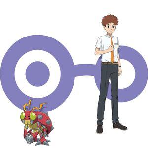 Digimon Adventure - Last Evolution Kizuna - Izzy & Tentomon