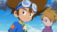 Taichi and Yamato smiling