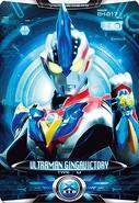 Ultraman X Ultraman Ginga Victory Card