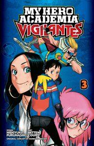 My Hero Academia Vigilantes Manga Volume 3 Cover