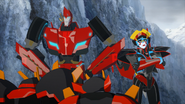Sideswipe, Windblade, Jetstorm and Slipstream (2)