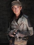 Christian Serratos as Rosita Espinosa in The Walking Dead 43