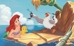 Disney Princess Ariel's Story Illustraition 2-1