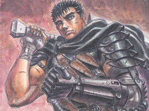 Guts clenched fist