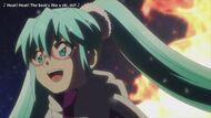 Hatsune Miku in the Shinkalion anime film