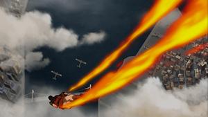 Iroh pursues biplanes