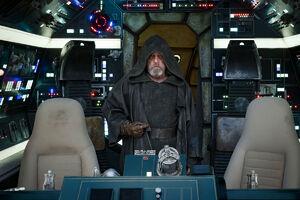 The Last Jedi -Luke in the Falcon