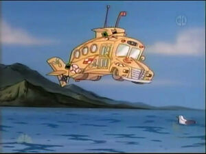 The Magic School Bus as a Submarine