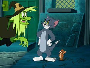Which Witch - Tom, Jerry and the Witch