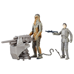 Chewbacca and Han Solo (Solo) - Hasbro Force Link