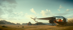 Rey jumps
