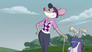 Thea golfer