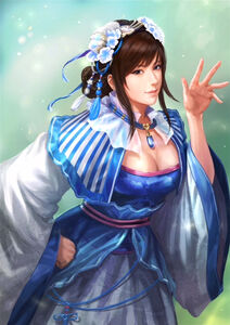 Wang Yuanji Collaboration Costume (ROTK13 DLC)