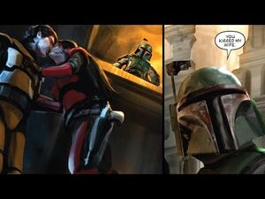 When Someone Kissed Boba Fett's Wife Right in Front of Him -Legends-