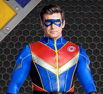 Captain Man Upgrade suit