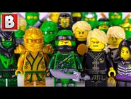 Every LEGO Lloyd Minifigure EVER MADE!!! - 2018 NINJAGO Collection Update