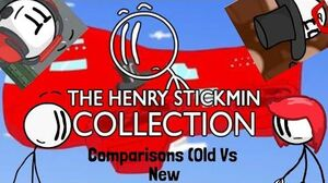 Henry Stickmin Collection Comparism (Old Vs New)