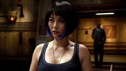 Rinko Kikuchi as Mako Mori in Pacific Rim 32.jpg