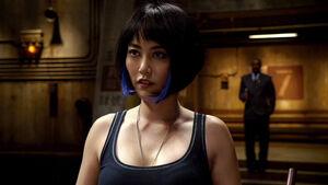 Rinko Kikuchi as Mako Mori in Pacific Rim 32
