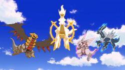 Sinnoh Legendary Pokémon