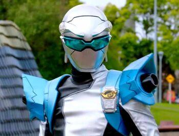 Silver Beast Ranger