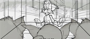 Tom and Jerry (2020 film) Storyboard 5