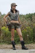 Christian Serratos as Rosita Espinosa in The Walking Dead S04