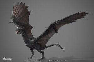 Diaval Dragon Concept