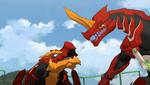 Drago battle with Gillator
