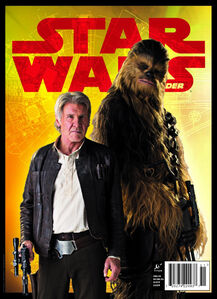 Han Solo and Chewie Insider Cover