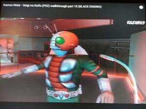 Kamen Rider V3 turn around