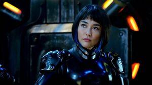 Rinko Kikuchi as Mako Mori in Pacific Rim 506