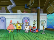 We're sorry there SpongeBob