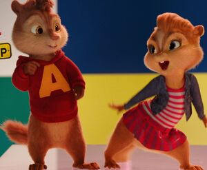 Alvin and the chipmunks road chip brittany alvin