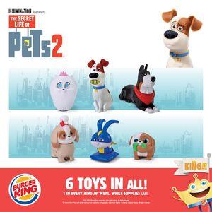Burger King Jr Meal The Secret Life Of Pets 2