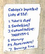 Caboose List