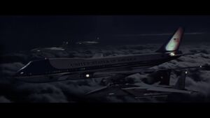 Halo Flight escorting Air Force One 2