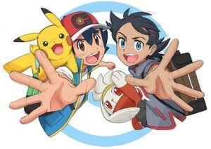 Pokémon Journeys Ash and Goh Official Artwork First Poster