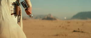 Rey prepares to face Kylo