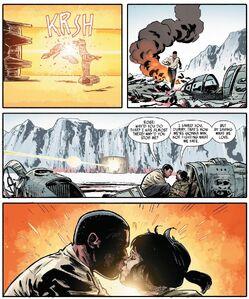 The Last Jedi Adaptation - Rose and Finn kiss