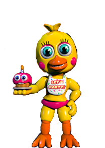 Toy Chica (FNAF World)