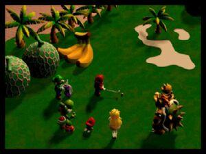 Mario Golf 64 ending scene
