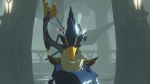 Revali enters