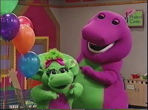 Barney and baby bop 123123231