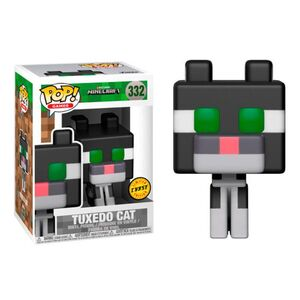 Funko Minecraft POP Tuxedo Cat Vinyl Figure CHASE VERSION x700