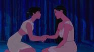 Nakoma comforting Pocahontas